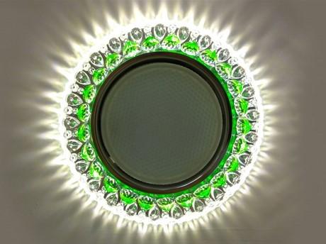 Светильник GX53 L192 – зеленый