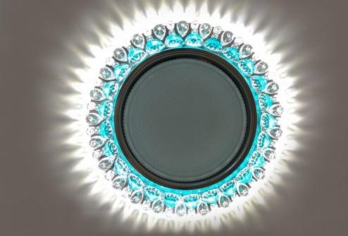 Светильник GX53 L197 – бирюзовый