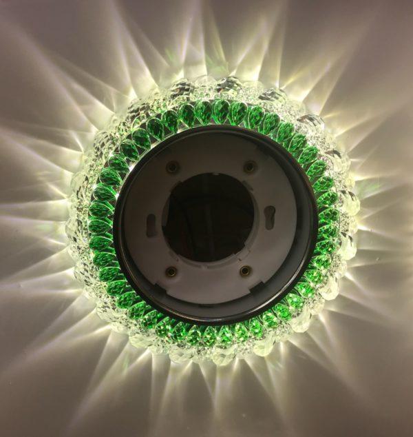 Светильник GX53 L292 – зеленый