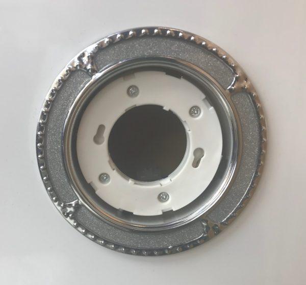 Светильник GX53 – хром-серебро