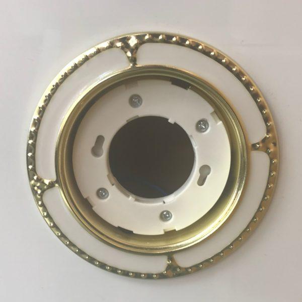 Светильник GX53 – золото-белый