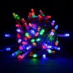 Новогодняя гирлянда RGB 200 LED, 10 м