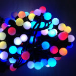 Гирлянда «Шарики» RGB 40 LED