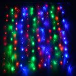 Гирлянда «Бахрома» 200 LED RGB