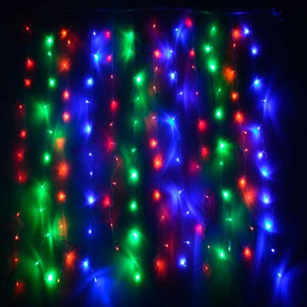 Гирлянда «Бахрома» 100 LED RGB