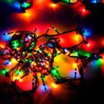 Новогодняя гирлянда RGB 100 LED, 6 м