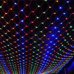 Новогодняя гирлянда 160 LED, 1,5 x 1,5 м
