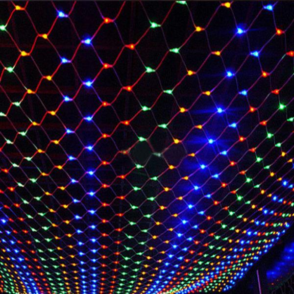 Гирлянда «Сетка» 160 LED RGB