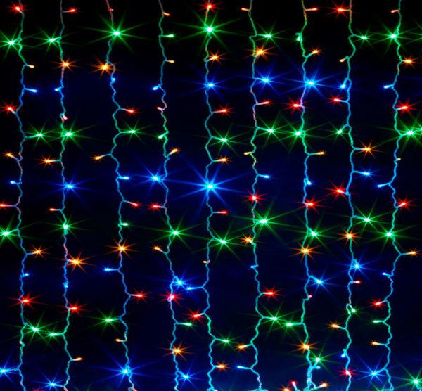 Гирлянда «Штора» 160 LED RGB