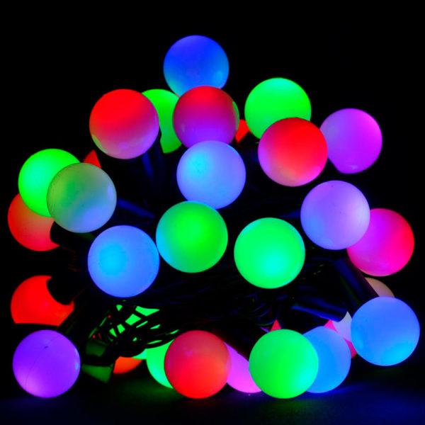 Уличная гирлянда «Шарики» 100 LED RGB