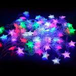 Уличная гирлянда «Звезды» 100 LED RGB