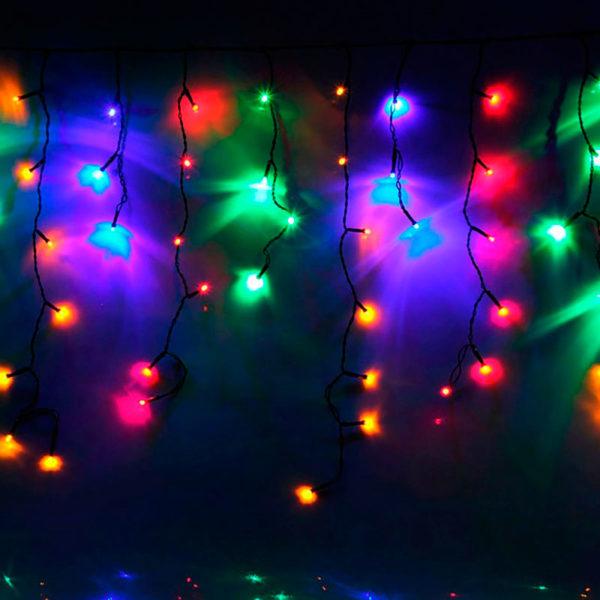 Уличная гирлянда «Бахрома» RGB