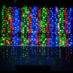 Уличная гирлянда «Штора» 1024 LED RGB, контролер