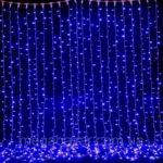 Новогодняя гирлянда 1024 LED, 3 x 3 м
