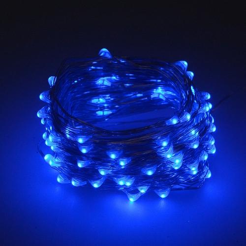 Гирлянда «Верёвка» 320 LED синяя