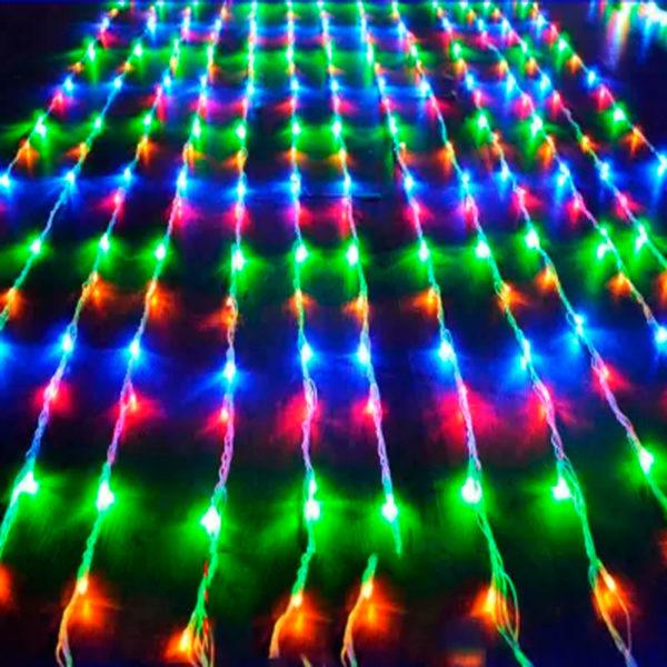 Гирлянда «Штора водопад» 900 LED RGB