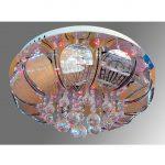 Люстра-Торт Y0379-500 с подсветкой и ПУ