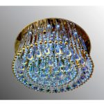 Люстра-Торт 3531-600 с подсветкой и ПУ