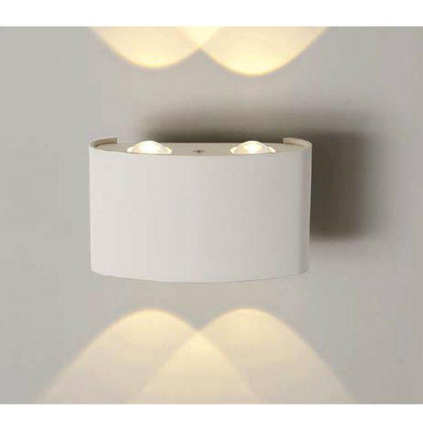 Настенный светильник b020-4w-belyy