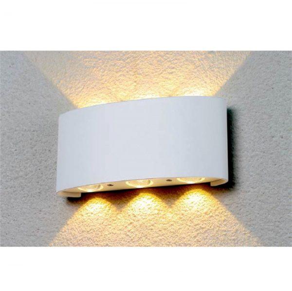Настенный светильник b020-6w-belyy