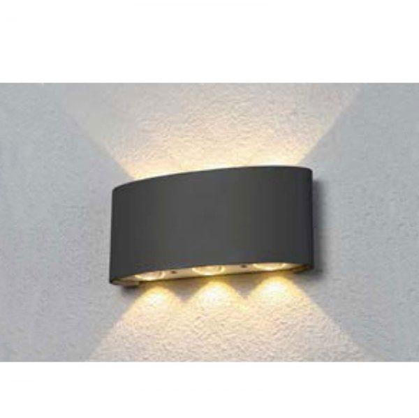 Настенный светильник b020-6w-chernyy