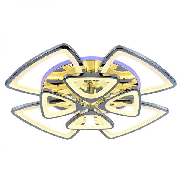 Люстра светодиодная 1264/4+4 CHR