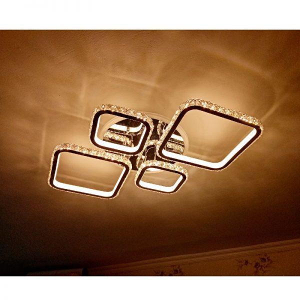 Люстра светодиодная 1537/2+2 COF RGB