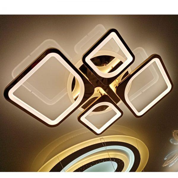 Люстра светодиодная 1537/2+2 CHR